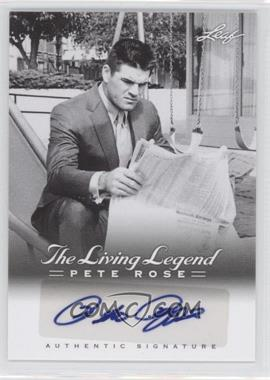 2012 Leaf Pete Rose The Living Legend - Autographs #AU-6 - Pete Rose