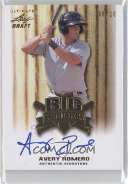 2012 Leaf Ultimate Draft - Big Sticks - Gold #BS-AR2 - Avery Romero /10
