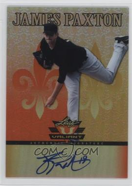 2012 Leaf Valiant - [Base] - Orange #VA-JP1 - James Paxton /99