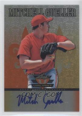 2012 Leaf Valiant - [Base] - Orange #VA-MG1 - Mitchell Gueller /99