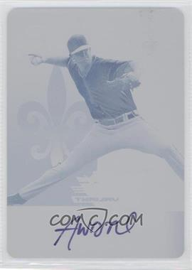 2012 Leaf Valiant - [Base] - Printing Plate Magenta #VA-AW1 - Alex Wood /1