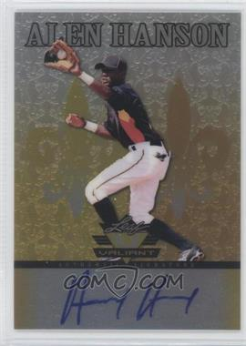 2012 Leaf Valiant - [Base] - Yellow #VA-AH2 - Alen Hanson /10