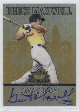2012 Leaf Valiant - [Base] - Yellow #VA-BM1 - Bruce Maxwell /10