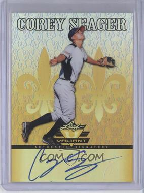 2012 Leaf Valiant - [Base] - Yellow #VA-CS1 - Corey Seager /10