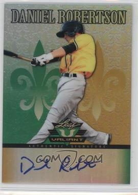 2012 Leaf Valiant - [Base] #VA-DR1 - Daniel Robertson
