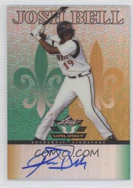 2012 Leaf Valiant - [Base] #VA-JB1 - Josh Bell
