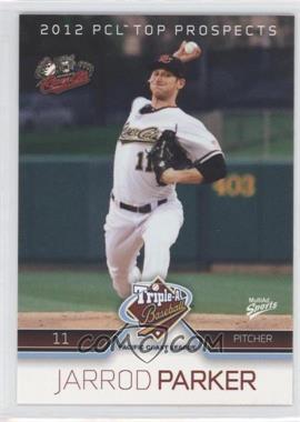 2012 Multi-Ad Sports Pacific Coast League Top Prospects - [Base] #28 - Jarrod Parker