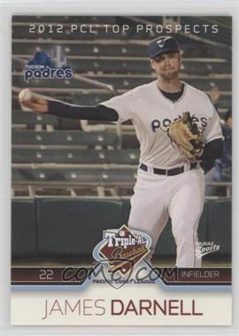 2012 Multi-Ad Sports Pacific Coast League Top Prospects - [Base] #34 - James Darnell