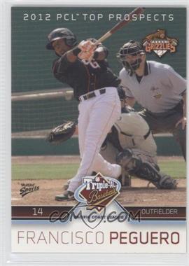 2012 Multi-Ad Sports Pacific Coast League Top Prospects - [Base] #6 - Francisco Peguero
