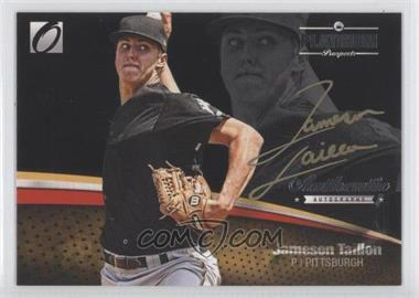 2012 Onyx Platinum Prospects - Autographs - Gold Ink Non-Numbered #PPA15 - Jameson Taillon /25