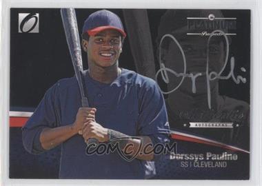 2012 Onyx Platinum Prospects - Autographs - Silver Ink #PPA12 - Dorssys Paulino /90