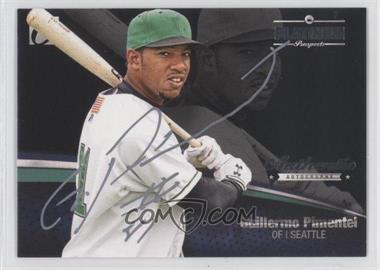 2012 Onyx Platinum Prospects - Autographs - Silver Ink #PPA13 - Guillermo Pimentel /145