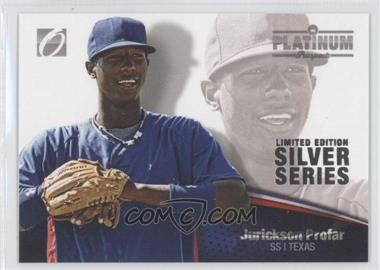 2012 Onyx Platinum Prospects - [Base] - Limited Edition Silver Series #PP37 - Jurickson Profar /100