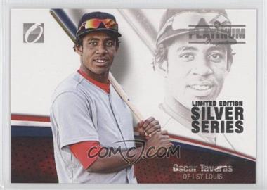 2012 Onyx Platinum Prospects - [Base] - Limited Edition Silver Series #PP44 - Oscar Taveras /100