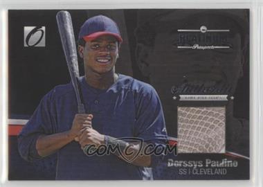 2012 Onyx Platinum Prospects - Game-Used Materials #PPGU15 - Dorssys Paulino /150