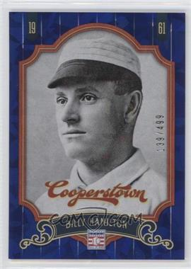 2012 Panini Cooperstown - [Base] - Blue Crystal Collection #70 - Billy Hamilton /499