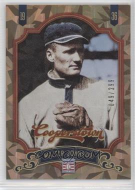 2012 Panini Cooperstown - [Base] - Crystal Collection #160 - Walter Johnson /299