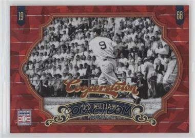 2012 Panini Cooperstown - [Base] - Red Crystal Collection #58 - Ted Williams /399