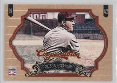 2012 Panini Cooperstown - [Base] #166 - Rogers Hornsby