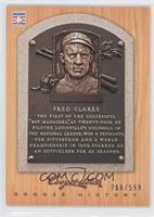Fred Clarke /599