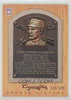 John Clarkson /599
