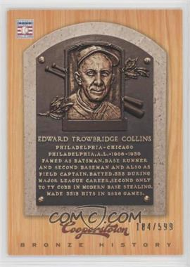 2012 Panini Cooperstown - Bronze History #21 - Eddie Collins /599