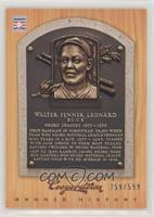 Buck Leonard /599