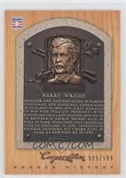 Harry Wright /599