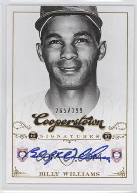 2012 Panini Cooperstown - Cooperstown Signatures #HOF-BIL - Billy Williams /299