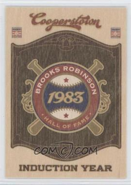 2012 Panini Cooperstown - Hall of Fame Classes - Induction Year #14 - Brooks Robinson
