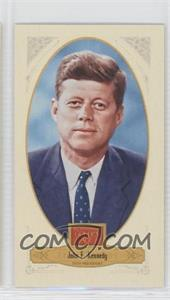 2012 Panini Golden Age - [Base] - Broad Leaf Mini Brown Back #77 - TBD, John F. Kennedy