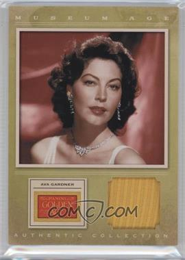 2012 Panini Golden Age - Museum Age Authentic Collection Material #10 - Ava Gardner, TBD