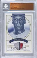 Bob Gibson /1 [BGS AUTHENTIC]