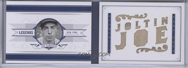 2012 Panini National Treasures - Legends Jumbo Materials - Nicknames Bat #9 - Joe DiMaggio /10