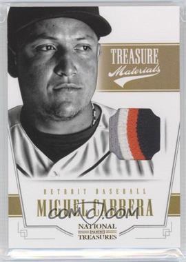 2012 Panini National Treasures - Treasure Materials - Prime #43 - Miguel Cabrera /25