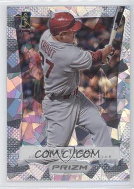 2012 Panini Prizm - [Base] - National Convention Cracked Ice #50 - Mike Trout