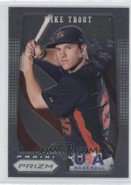 2012 Panini Prizm - USA Baseball #USA1 - Mike Trout