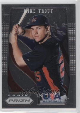 2012 Panini Prizm - USA Baseball #USA1 - Mike Trout