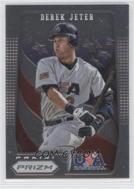 2012 Panini Prizm - USA Baseball #USA8 - Derek Jeter