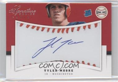 2012 Panini Signature Series - [Base] - Rated Rookie Signatures Game Ball #145 - Tyler Moore /299