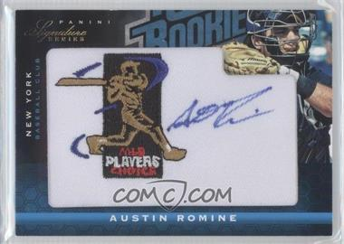 2012 Panini Signature Series - [Base] - Rated Rookie Signatures MLBPA Patch #104 - Austin Romine /299