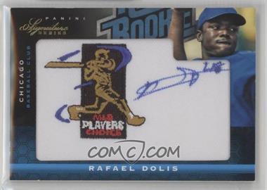 2012 Panini Signature Series - [Base] - Rated Rookie Signatures MLBPA Patch #122 - Rafael Dolis /299