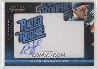 Rated Rookie Manufactured Patch Autograph - Nick Hagadone #/299