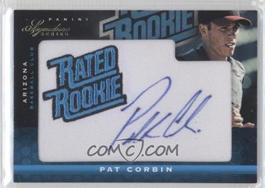 2012 Panini Signature Series - [Base] #138 - Pat Corbin /299