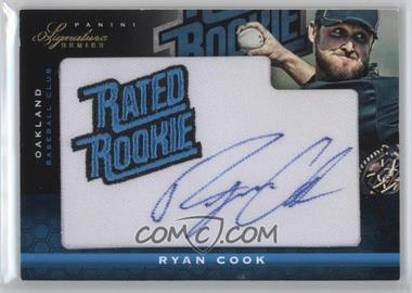 2012 Panini Signature Series - [Base] #140 - Ryan Cook /299