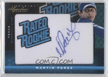 2012 Panini Signature Series - [Base] #147 - Martin Perez /299