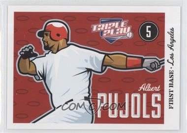2012 Panini Triple Play - [Base] #37 - Albert Pujols
