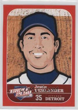 2012 Panini Triple Play - Stickers #24 - Justin Verlander