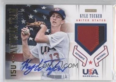2012 Panini USA Baseball National Team - 15U National Team Patches - Signatures [Autographed] #19 - Kyle Tucker /35