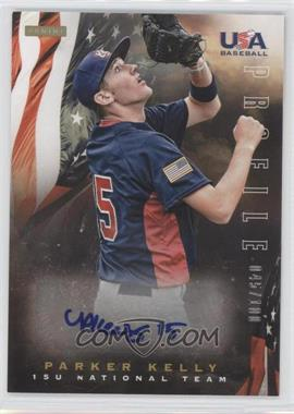 2012 Panini USA Baseball National Team - 15U National Team Profile #12 - Parker Kelly /100